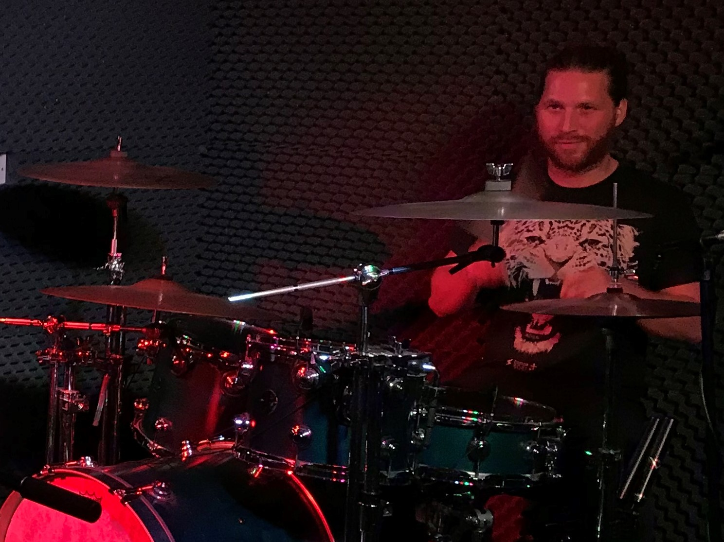 Steve Tanton, Professional Drummer